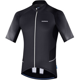 Shimano Mirror Cool Jersey Men Black/White